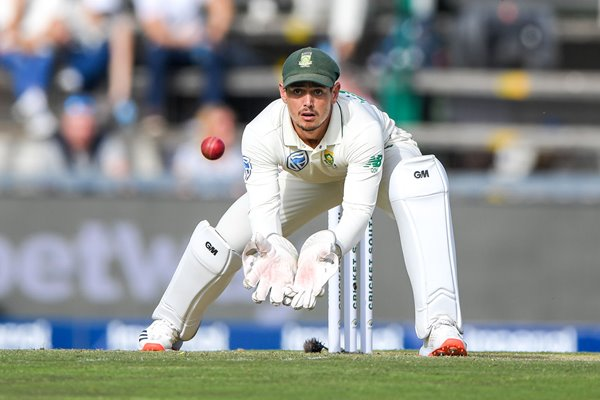 Quinton de Kock South Africa wicketkeeper v England Wanderers 2020