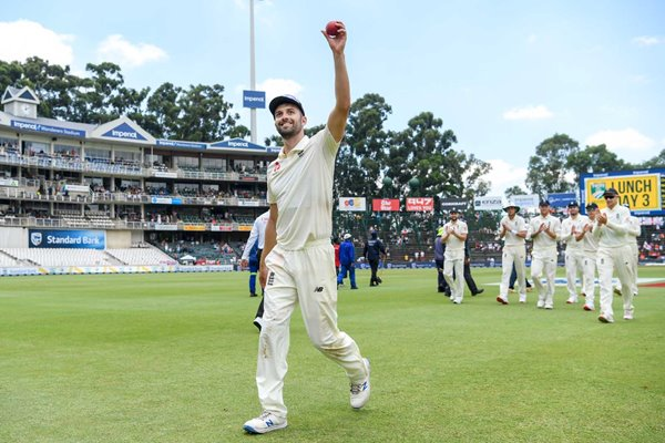 Mark Wood England 5 For v South Africa 4th Test Johannesburg 2020