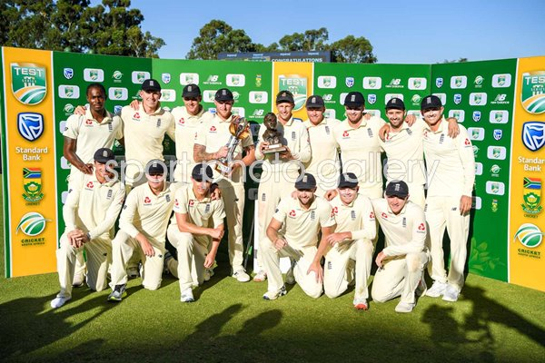 England Test Series winners v South Africa Johannesburg,2020