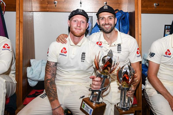 Ben Stokes & Mark Wood Durham & England v South Africa 2020