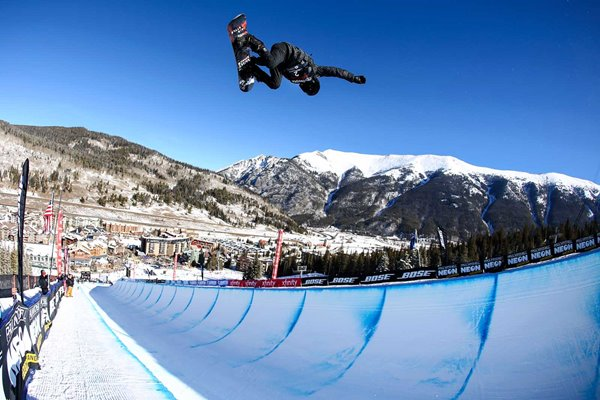Shaun White USA Halfpipe Snowboarding Finals World Cup Colorado 2018