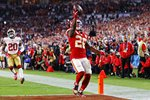 Damien Williams Kansas City Fourth Quarter Touchdown Super Bowl Miami 2020 Prints