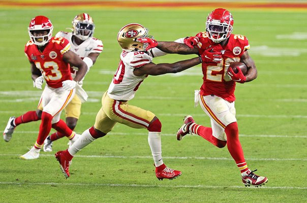 Damien Williams Kansas City Chiefs v San Francisco 49ers Super Bowl 2020
