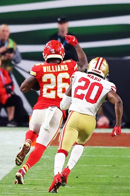 Damien Williams Kansas City Chiefs Touchdown v 49ers Super Bowl 2020