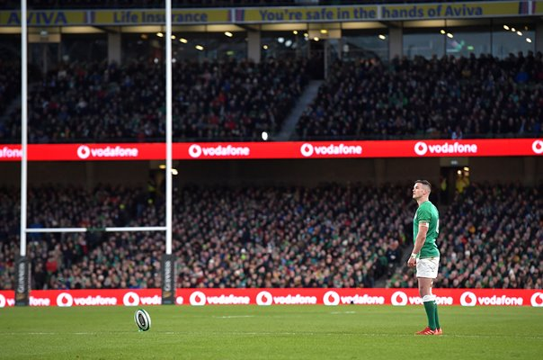 Johnny Sexton Ireland v Scotland Six Nations Dublin 2020