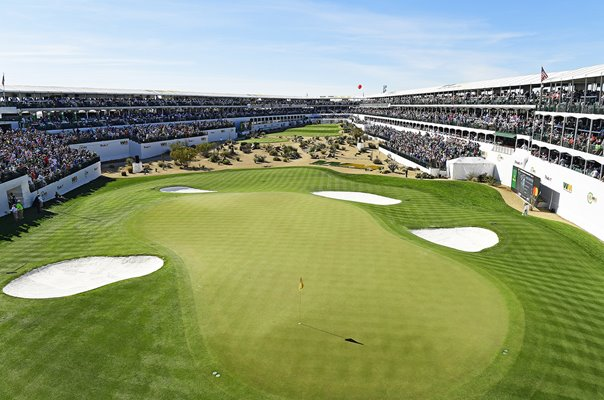16th Hole TPC Scottsdale Phoenix Open 2020