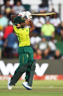 Temba Bavuma South Africa v England T20 East London 2020