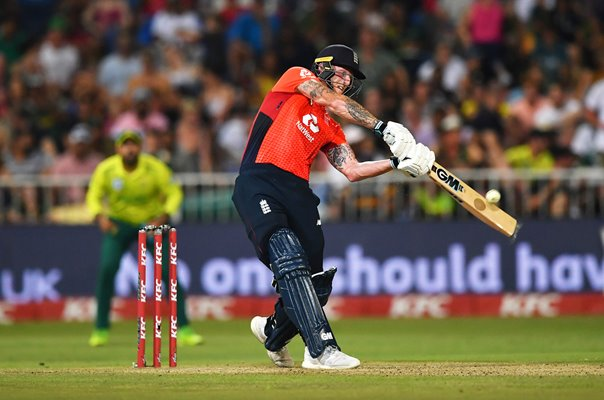 Ben Stokes England batting v South Africa T20 Durban 2020
