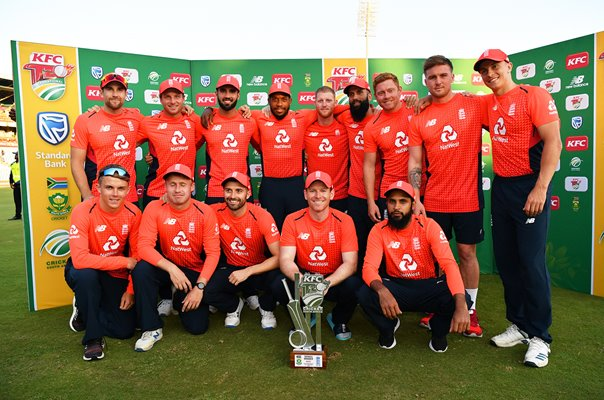 England T20 Series Winners v South Africa Centurion 2020