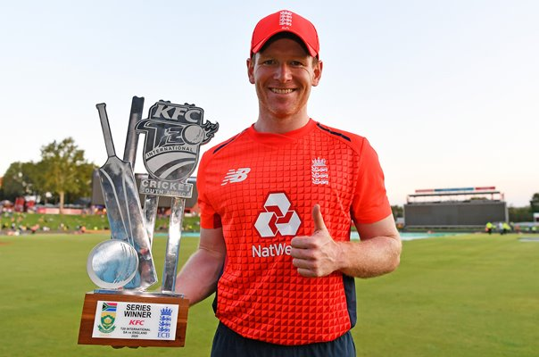 Eoin Morgan England captain T20 Series win v South Africa 2020