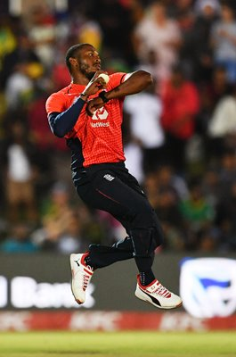 Chris Jordan England South Africa v England T20 East London 2020