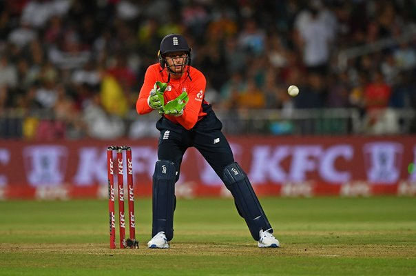 Jos Buttler England wicket keeper v South Africa T20 Durban 2020