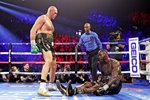 Tyson Fury Stands Tall v Deontay Wilder Las Vegas 2020 Prints