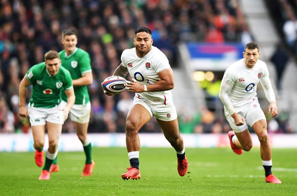 Manu Tuilagi England v Ireland Twickenham Six Nations 2020