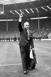 Bill Shankly Liverpool Manager FA Cup win v Leeds Wembley 1965 Prints