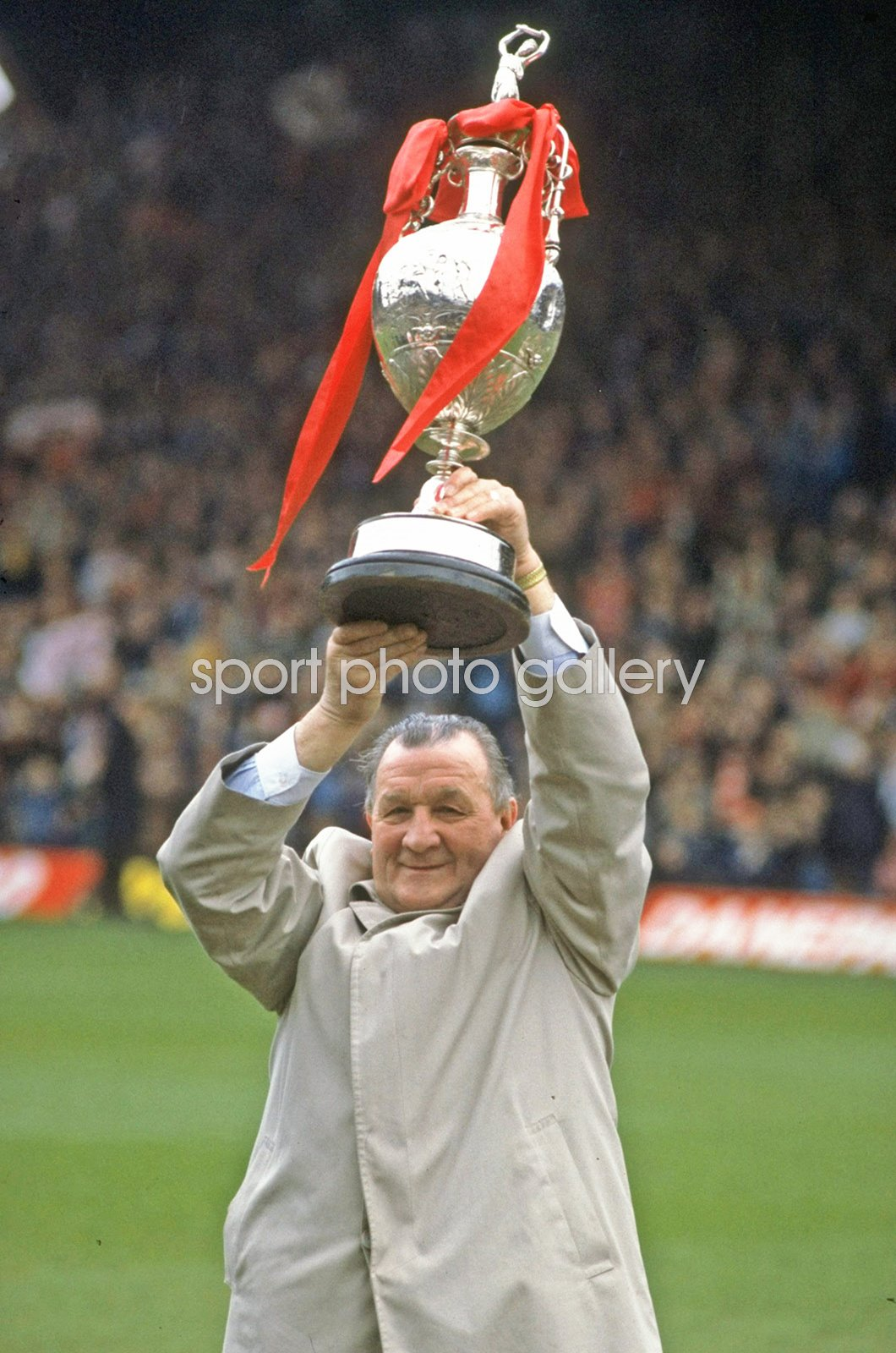 Bob Paisley Liverpool Manager League One Trophy Anfield 1983