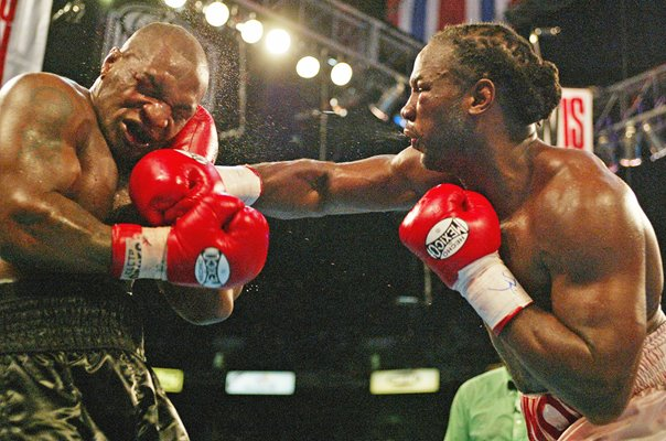 Mike Tyson v Lennox Lewis Heavyweight Boxing Memphis 2002