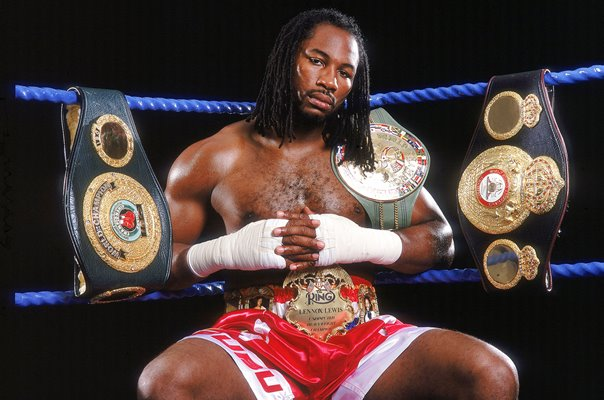 Lennox Lewis Great Britain World Heavyweight Champion 2000