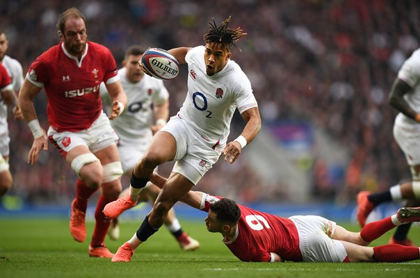 Anthony Watson England try v Wales Six Nations 2020