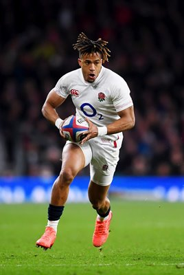 Anthony Watson England wing v Wales Six Nations 2020