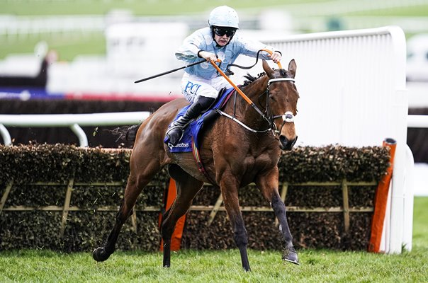 Rachael Blackmore riding Honeysuckle Mares Hurdle Cheltenham 2020