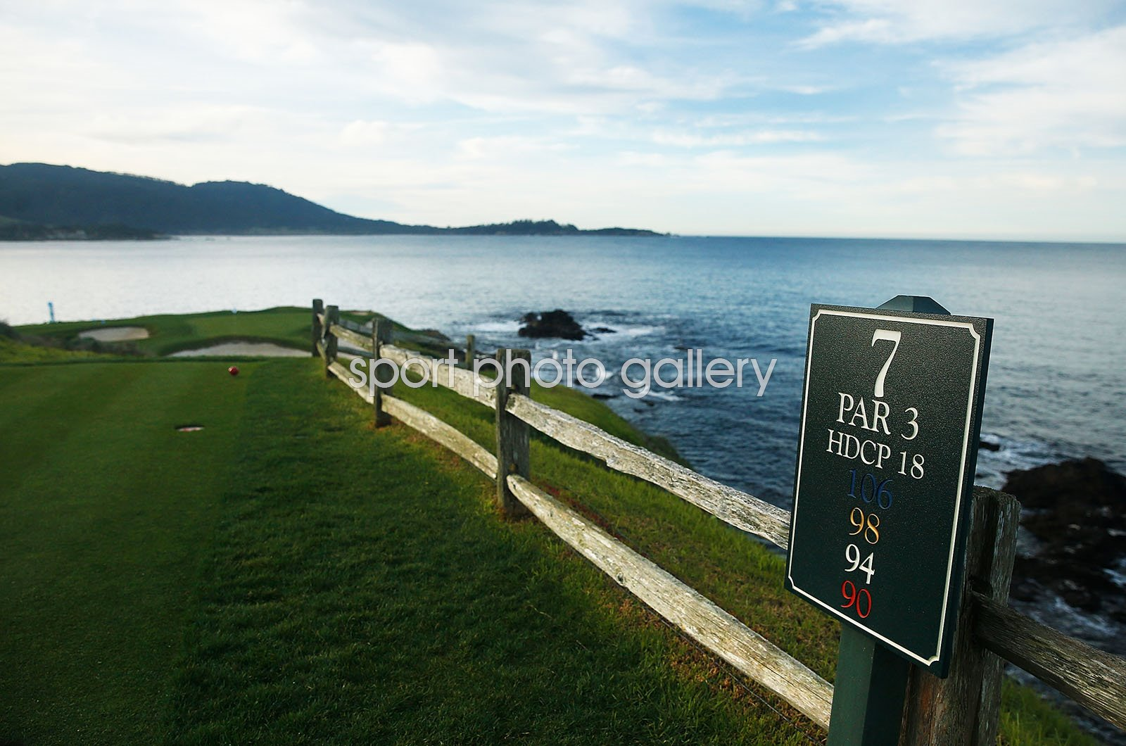 7th tee Pebble Beach Golf Links