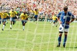 Roberto Baggio Despair Brazil Euphoria World Cup 1994 Prints