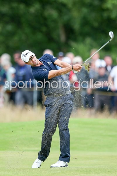 Adam Scott Open Lytham 2012