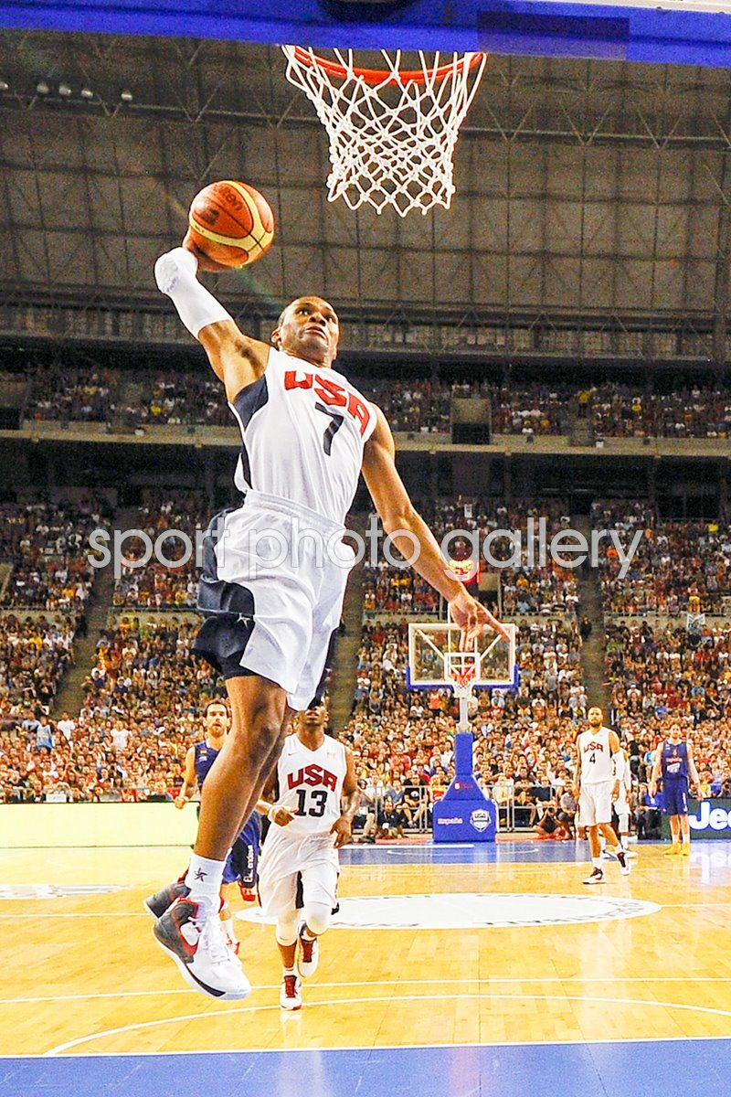 Russell Westbrook - USA v Spain