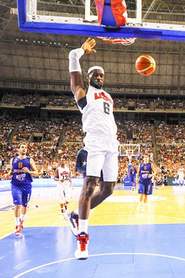 LeBron James - USA v Spain 2012
