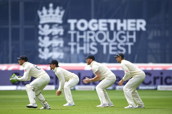 England slips v West Indies Old Trafford Test Match 2020