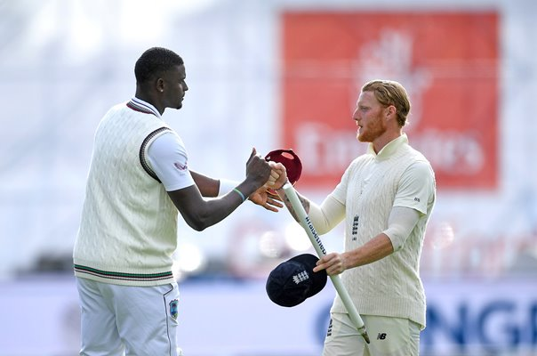 Ben Stokes England v Jason Holder West Indies Old Trafford 2020