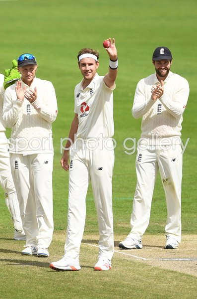 Stuart Broad England 500th Test Wicket Old Trafford 2020