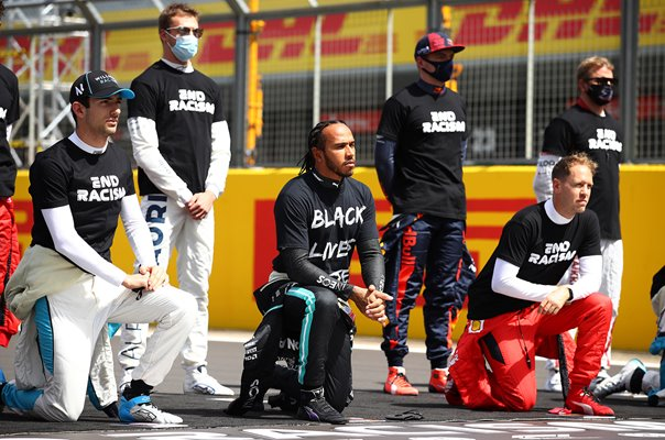 Lewis Hamilton Black Lives Matter Support Silverstone Grand Prix 2020