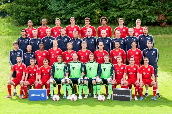 Bayern Munich 2012 - official team picture