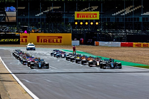F1 Grand Prix of Great Britain Start Silverstone 2020