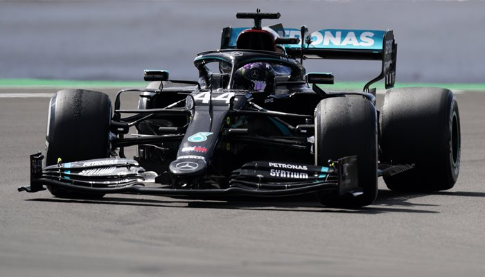 Lewis Hamilton Great Britain & Mercedes Silverstone 2020