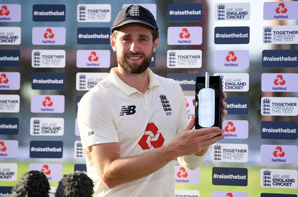 Chris Woakes Player of the Match v Pakistan Old Trafford 2020