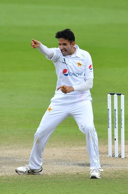 Mohammad Abbas Pakistan v England Old Trafford Test 2020