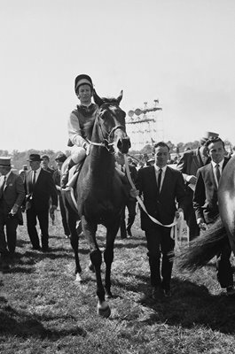 Lester Piggott on Nijinsky win Epsom Derby 1970