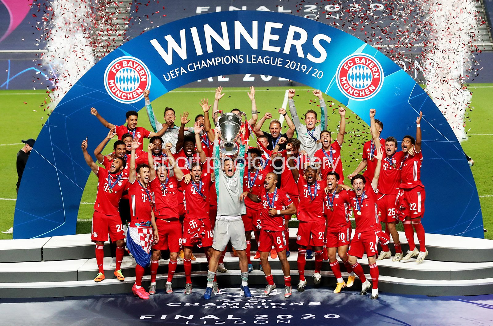 Bayern Munich Champions League Final Winners 2020