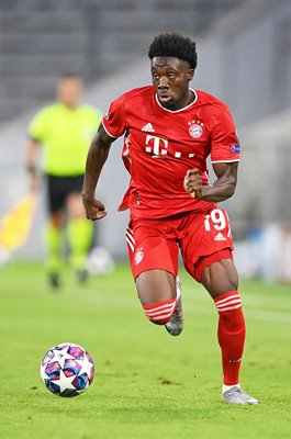 Alphonso Davies Bayern Munich Champions League Allianz Arena 2020
