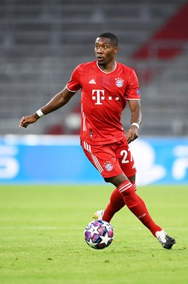 David Alaba Bayern Munich Champions League 2020