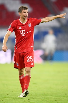 Thomas Mueller Bayern Munich Champions League 2020