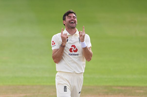 James Anderson England 600 Test Wickets Southampton 2020