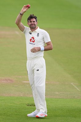 James Anderson England celebrates 600 Test Wickets Southampton 2020