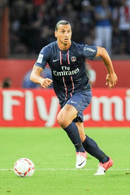 Zlatan Ibrahimovic of Paris Saint-Germain FC in action