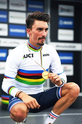 Julian Alaphilippe France Road Race World Champion Imola 2020