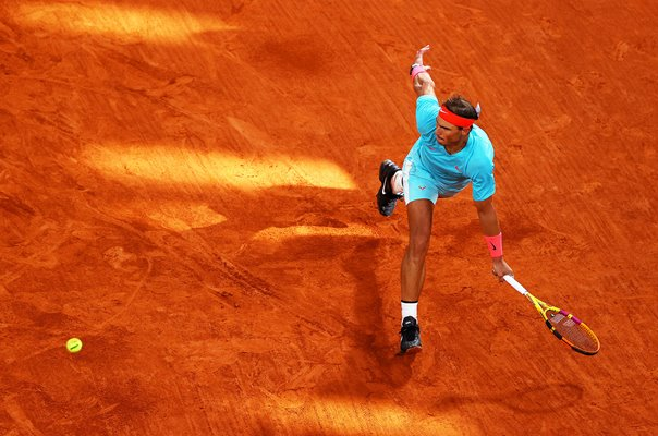 Rafael Nadal Spain French Open Forehand Paris 2020