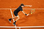 Stefanos Tsitsipas Greece French Open Backhand Volley 2020 Prints